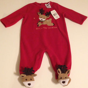 Decorated Originals for Kids Pajamas | Fleece Footed 6m Babys First ...